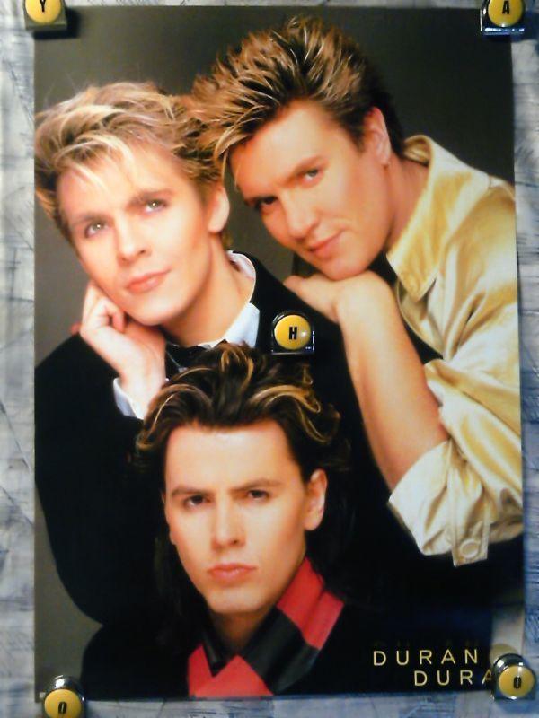 SE【ポスター/B-2-515x728】デュラン デュラン-Duran Duran/'80代-販促用非売品ポスター_画像1