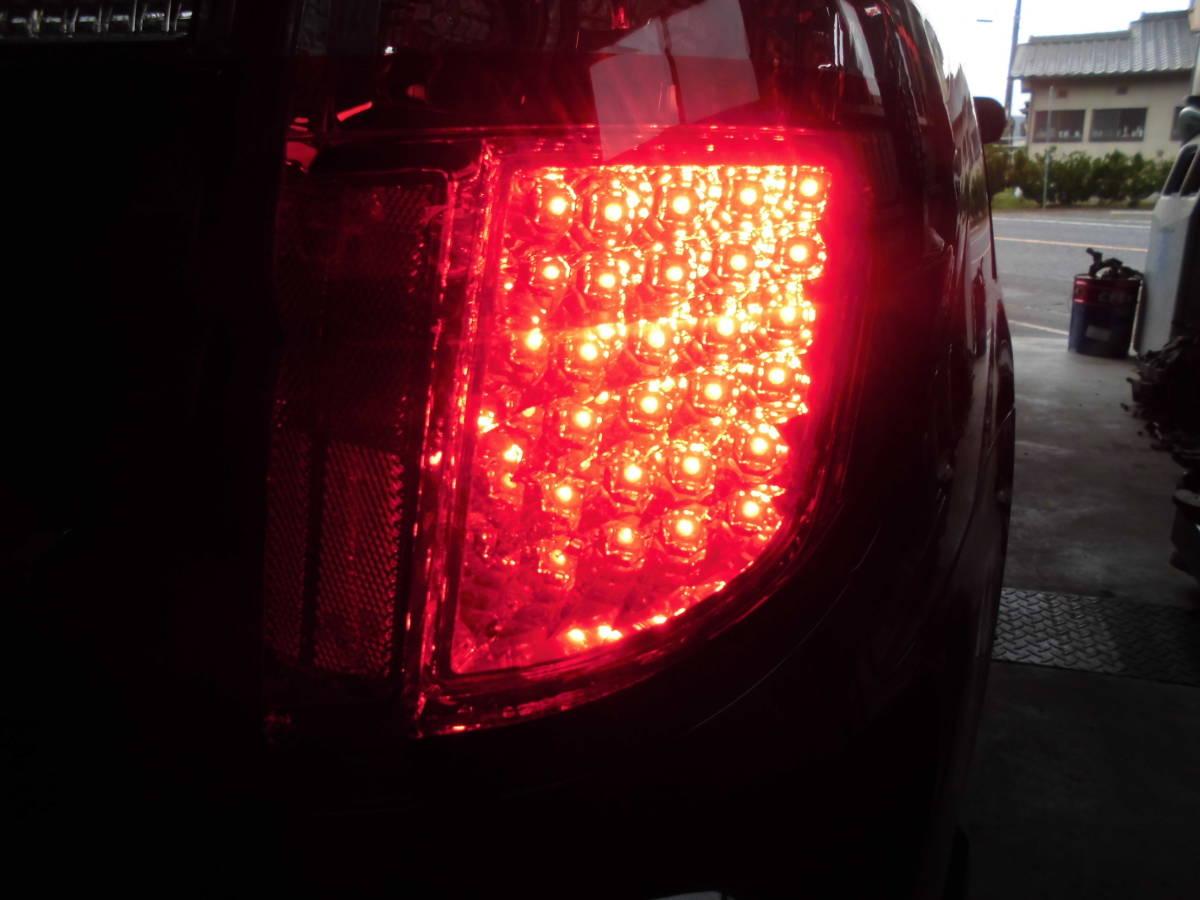 BP5レガシィ後期用社外LED後期タイプリヤテールライトセット_画像7
