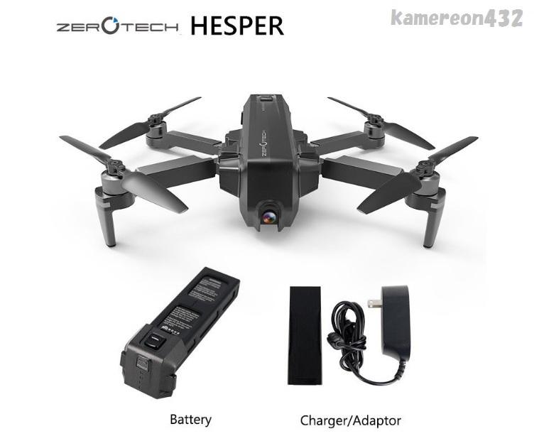 [Zerotech Hesper★スタンダード Ver.] WiFi FPV 4K HDカメラ GPS&VPS 折り畳み式 RC クアッドコプター ドローン_画像1