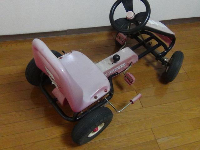 #88 ラジオフライヤー スピーディーペダルカー Radio Flyer Racer Pedal Car ラジオフライヤー_画像3