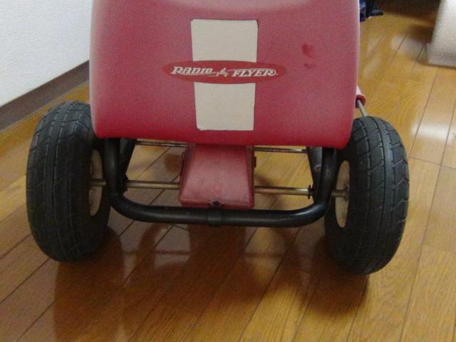 #88 ラジオフライヤー スピーディーペダルカー Radio Flyer Racer Pedal Car ラジオフライヤー_画像4