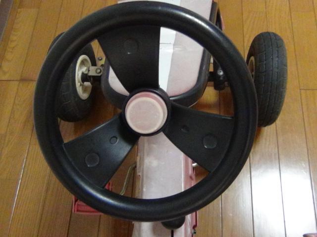 #88 ラジオフライヤー スピーディーペダルカー Radio Flyer Racer Pedal Car ラジオフライヤー_画像6