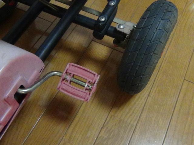 #88 ラジオフライヤー スピーディーペダルカー Radio Flyer Racer Pedal Car ラジオフライヤー_画像7