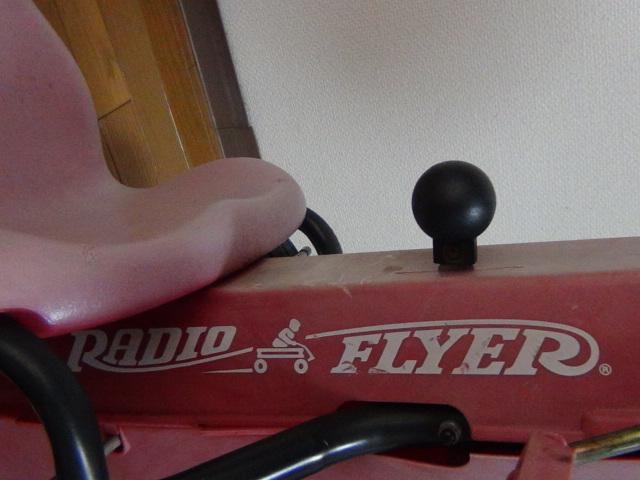 #88 ラジオフライヤー スピーディーペダルカー Radio Flyer Racer Pedal Car ラジオフライヤー_画像9