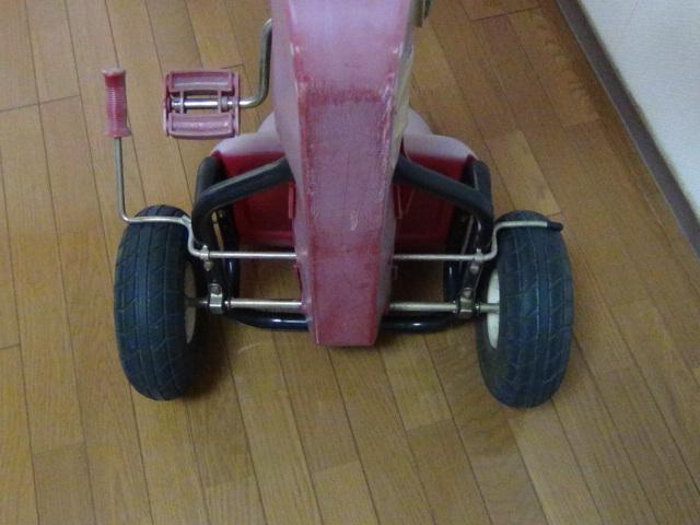 #88 ラジオフライヤー スピーディーペダルカー Radio Flyer Racer Pedal Car ラジオフライヤー_画像10