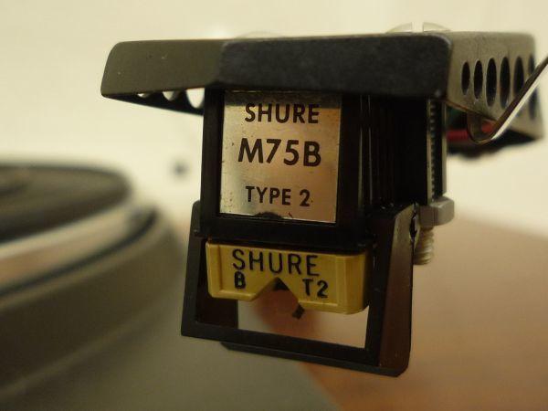 D276 TEAC ティアック TN-400 ダイレクトドライブ方式 ターンテーブル SME3009 アーム SHURE M75B SMEシェル・N_画像4