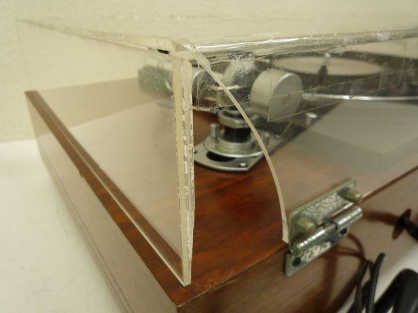 D276 TEAC ティアック TN-400 ダイレクトドライブ方式 ターンテーブル SME3009 アーム SHURE M75B SMEシェル・N_画像8