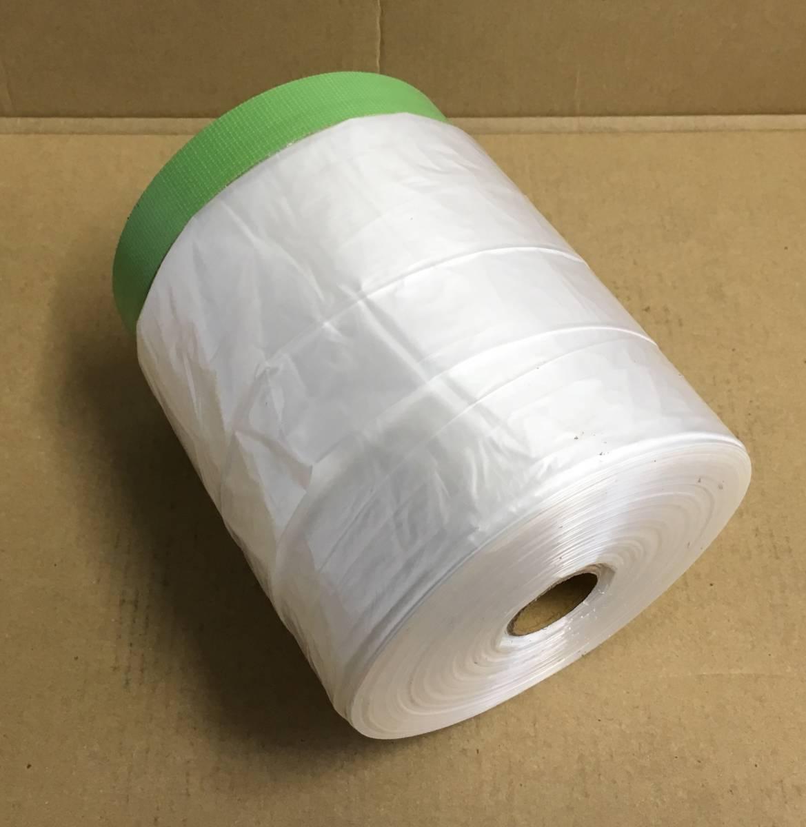 布テープ付きマスカー コロナ 2100x25m YK-6000 好川産業_画像1