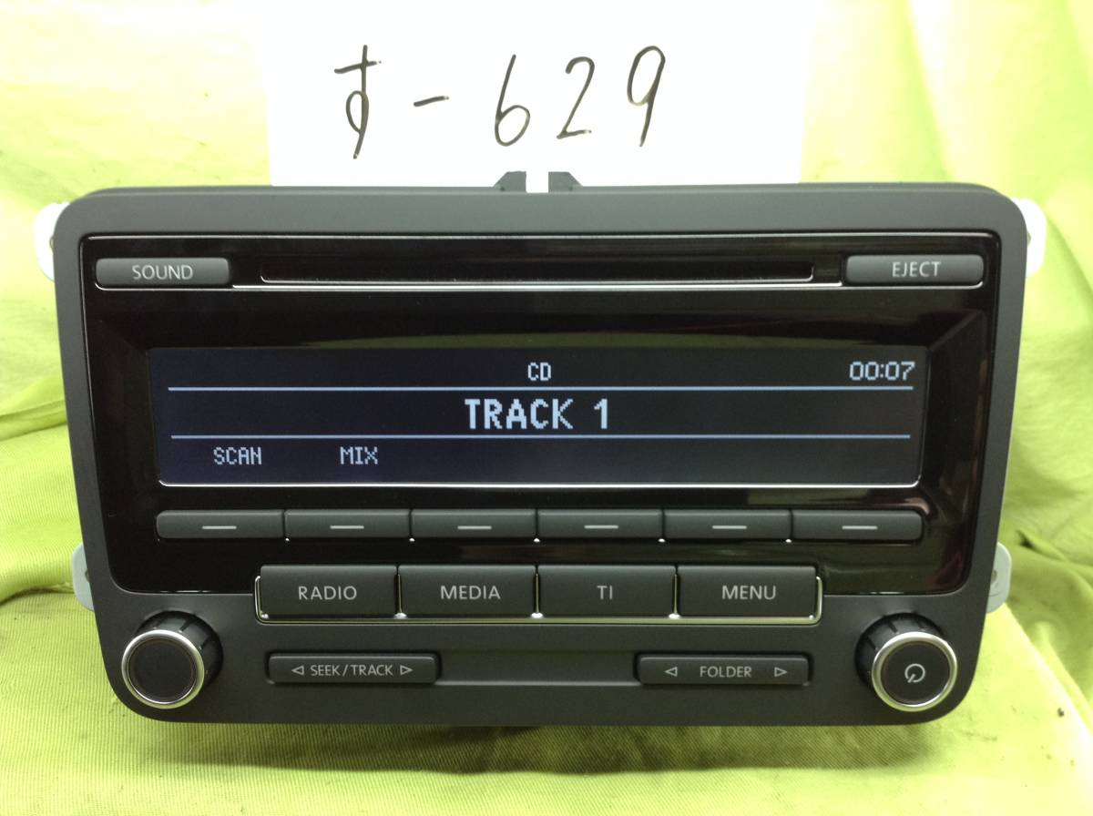 す-629 VW フォルクスワーゲン純正 VW-5M0 035 183C 即決 保障付_画像1