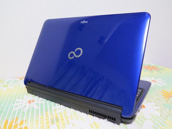 【高速Core i5★最新Windows10】AH700/5B 富士通 ブルー HDD 1000GB ★ メモリ4GB Blu-ray HDMI Wi-Fi Office2016 _画像3