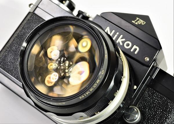 ガンアス 87 【 NIKON F ブラックボディ / 742万 】 フォトミック / NEW F_画像2