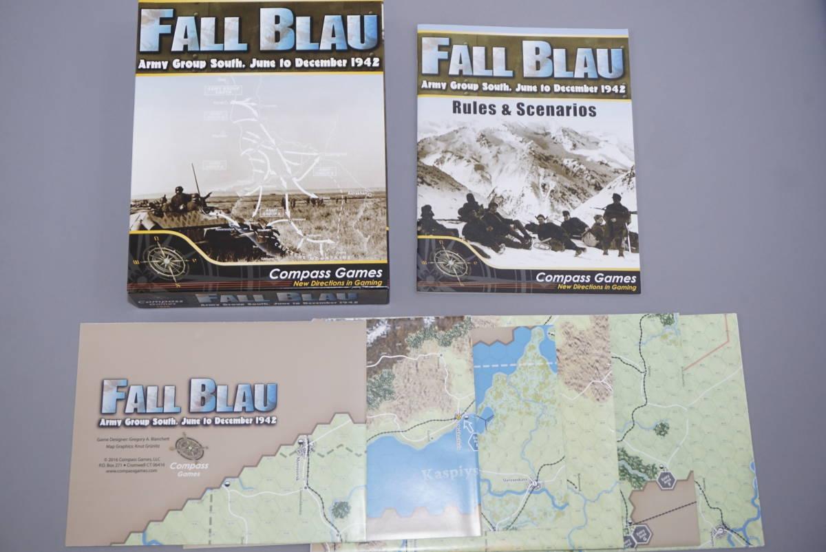 ★ Compass Games 「FALL BLAU」 ★