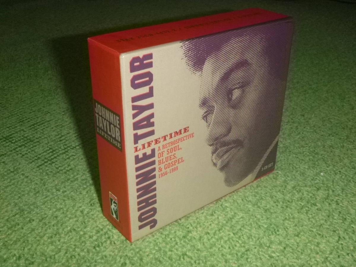 Johnnie Taylor  / ジョニー・テイラー / ザ・ヒストリー 1956~1999 / 【国内盤/3CD】_画像3