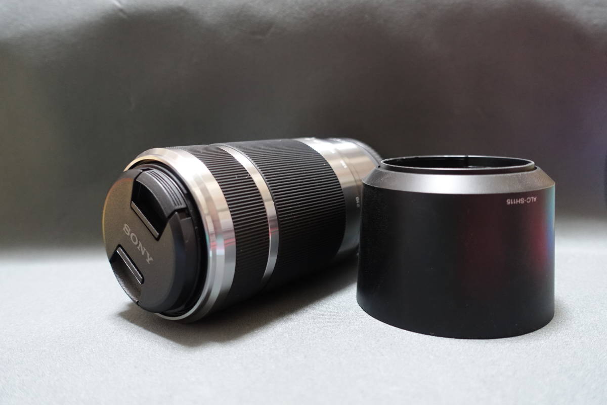 ★新的和未使用的★長焦鏡頭·SEL 55210 E 55-210 mm F 4.5  -  6.3 OSS·銀·散裝★SONY★α5000/α5100/α6000系列/α6300等 編號:u230454677