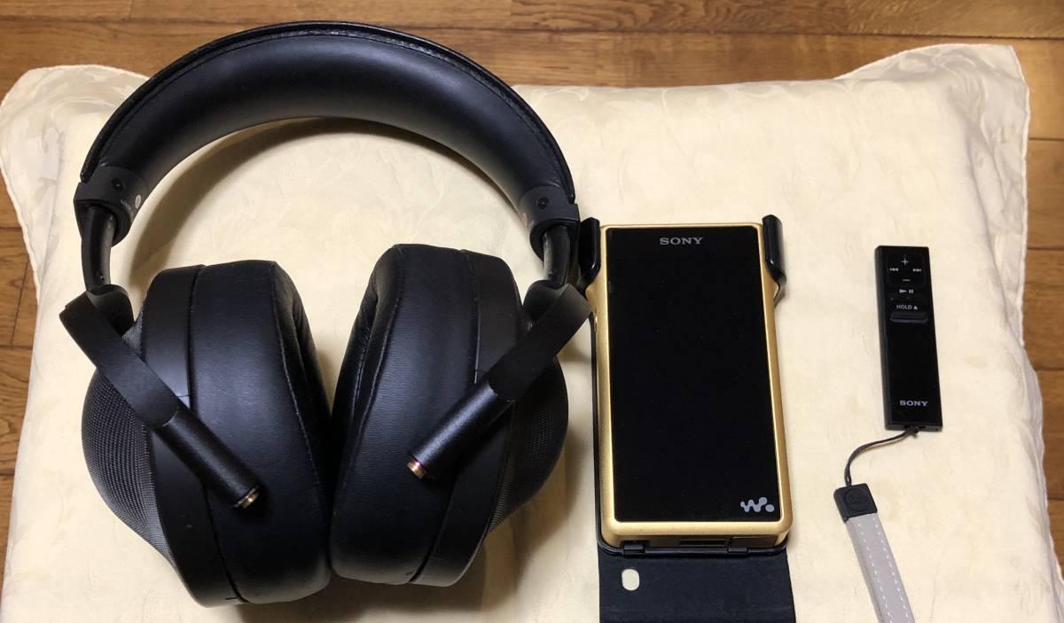 SONY digital music player NW-WM1Z、 MDR-Z1R
