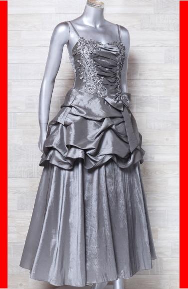 キャミドレス 大きいサイズ カラードレス 光沢 パーティードレス ロングドレス ウエディングドレス