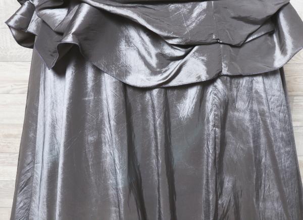 キャミドレス 大きいサイズ カラードレス 光沢 パーティードレス ロングドレス ウエディングドレス_画像7