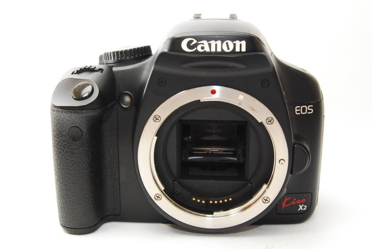 ★M2390 難有品 Canon キヤノン EOS Kiss X2 Body 部品取り 研究用 拍卖