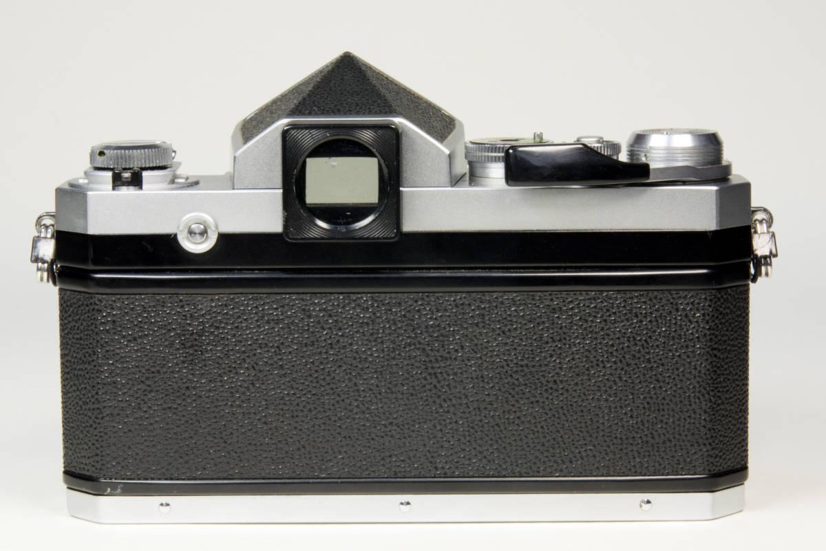 ニコンF アイレベル シルバー  Nikkor-S・C Auto 50mm 1:1.4 セット 動作確認品_画像5