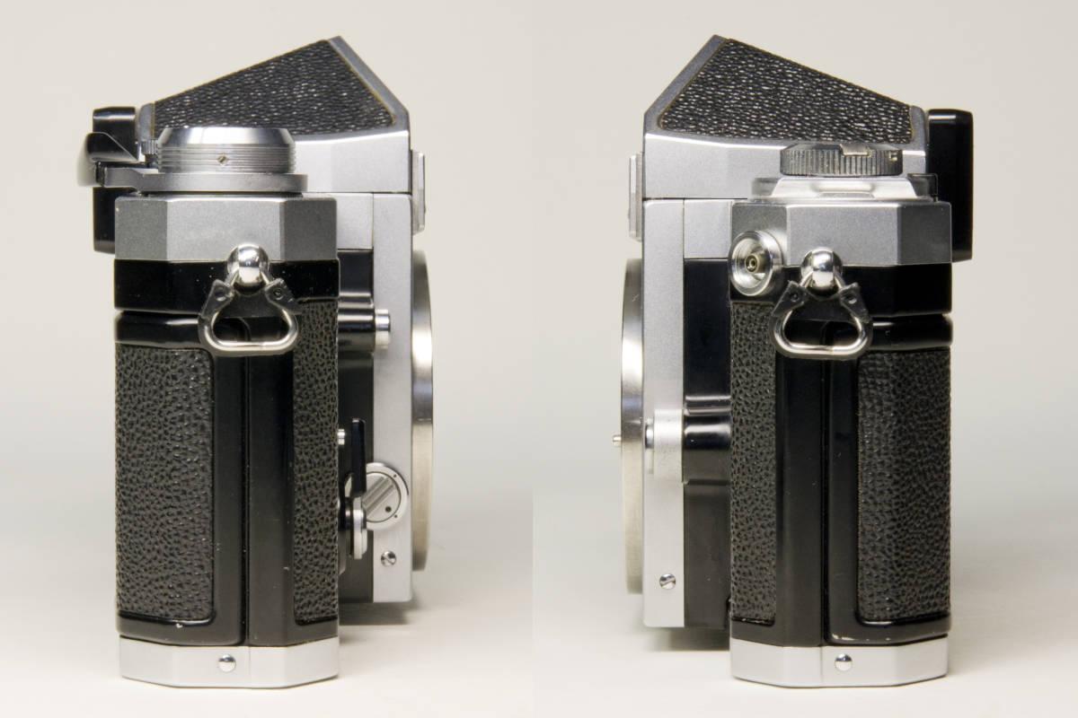 ニコンF アイレベル シルバー  Nikkor-S・C Auto 50mm 1:1.4 セット 動作確認品_画像6