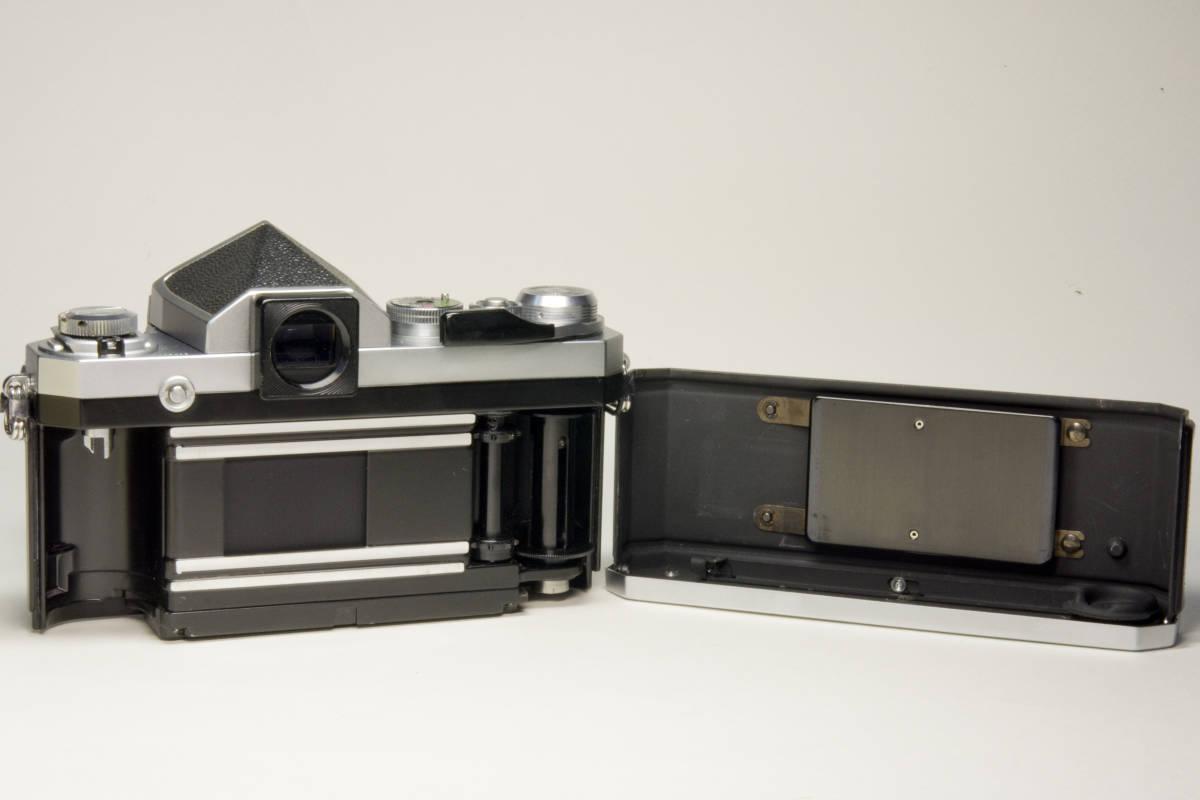 ニコンF アイレベル シルバー  Nikkor-S・C Auto 50mm 1:1.4 セット 動作確認品_画像8