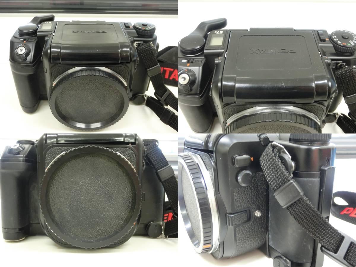 PENTAX 67 II ボディ 67 ファインダー レンズ45mm F4 TAKUMAR 1:4/300