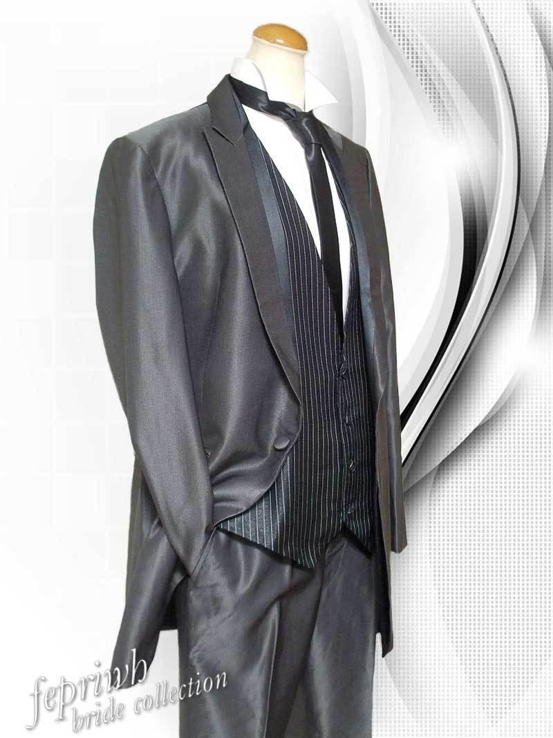 送料無料 NICOLE LI Collection ブラック ロングタキシード 2095630-ABM 格安 ニコル