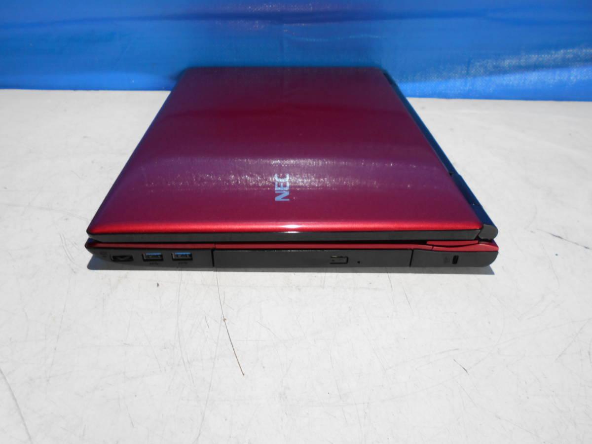 NEC PC-LL750MSR-E3 LaVie ノートパソコン ジャンク_画像3