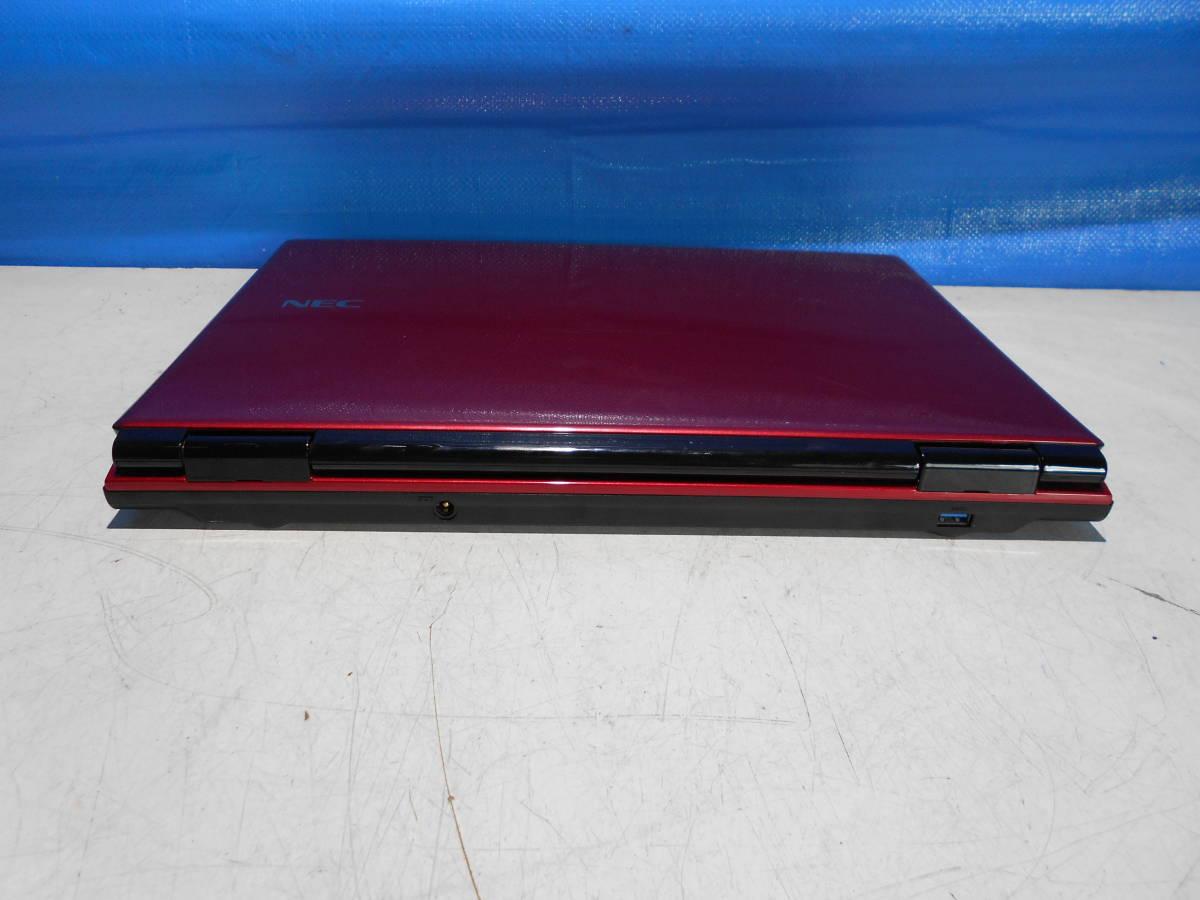 NEC PC-LL750MSR-E3 LaVie ノートパソコン ジャンク_画像4