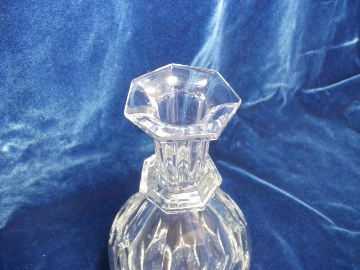 バカラ デキャンタ デカンタ クリスタルガラス BACCARAT 高さ(蓋含む)約30cm_画像5