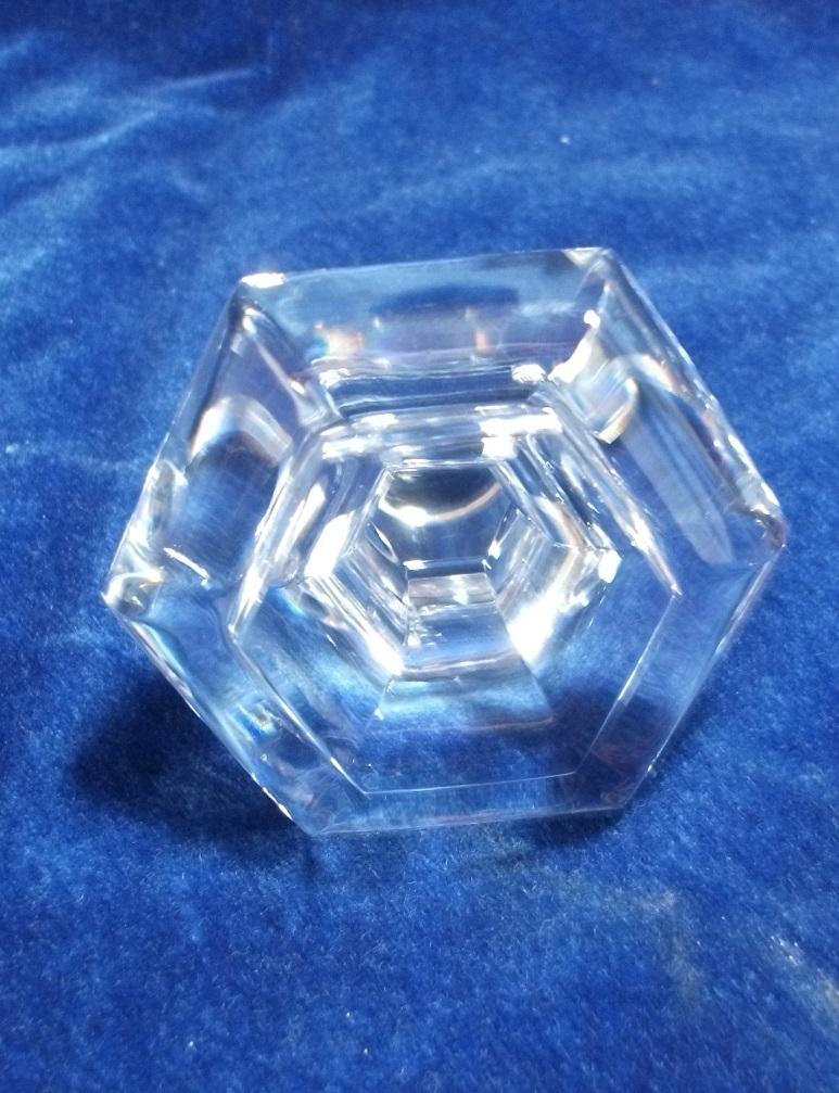 バカラ デキャンタ デカンタ クリスタルガラス BACCARAT 高さ(蓋含む)約30cm_画像9