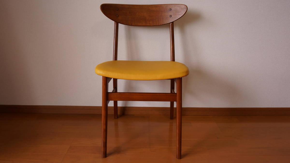 北欧 デンマーク モダン ヴィンテージ チェア 椅子 1960年代 ~ ダイニング 家具 ビンテージ アンティーク 骨董 レア チーク材