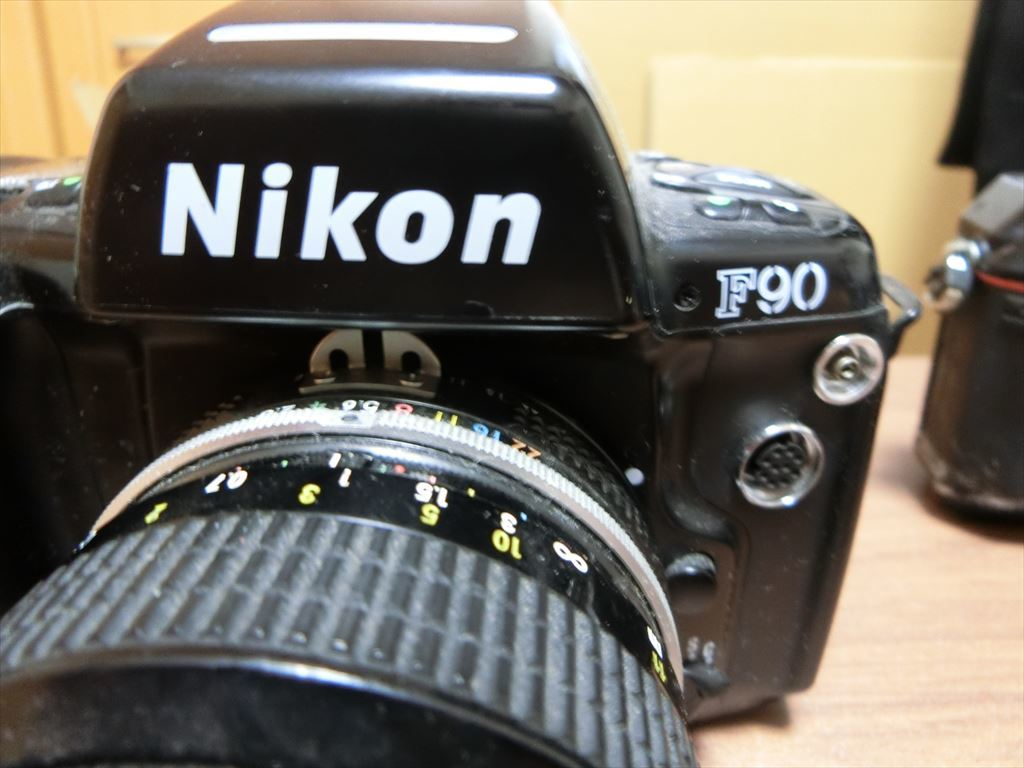 11 NIKON/ニコン F90 1:2.8 24mm/F 1:2.8 135mm/F-501 AF 35-105 カメラ3個セット_画像5