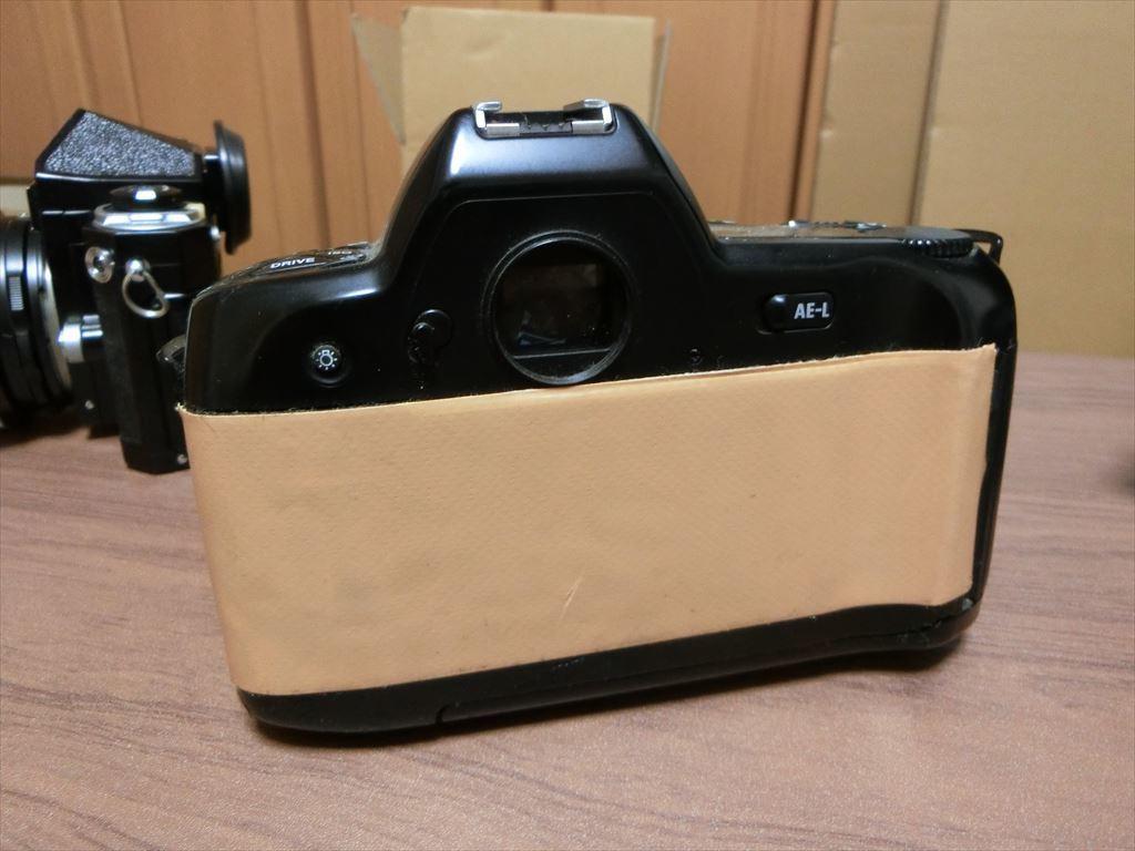 11 NIKON/ニコン F90 1:2.8 24mm/F 1:2.8 135mm/F-501 AF 35-105 カメラ3個セット_画像6