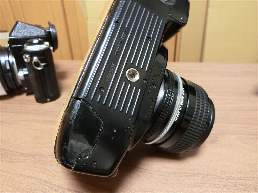 11 NIKON/ニコン F90 1:2.8 24mm/F 1:2.8 135mm/F-501 AF 35-105 カメラ3個セット_画像7