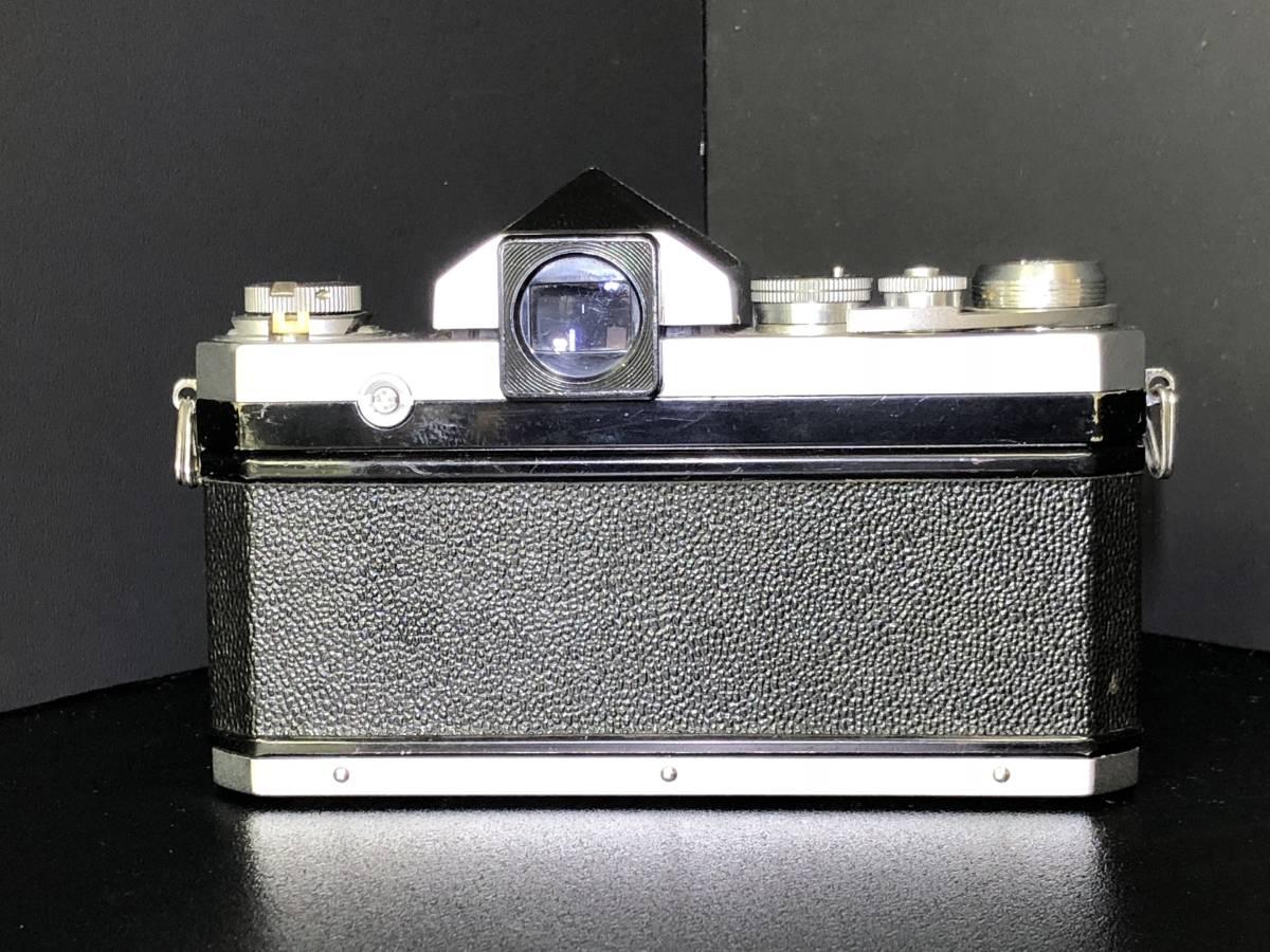 (C3)Nikon F フィルムカメラ NIKKOR-H Auto 1:2 f=50mm マニュアルフォーカス 打痕有り ジャンク_画像5