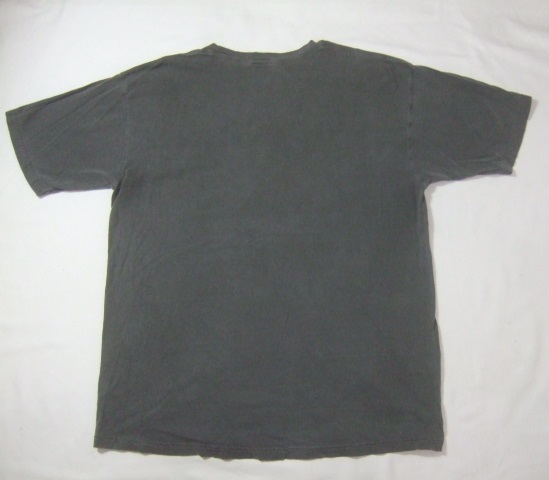 2008年製HARLEY-DAVIDSONハーレーダビッドソン ロゴプリント半袖Tシャツ/古着アメカジバイカーチャコールグレーL_画像4