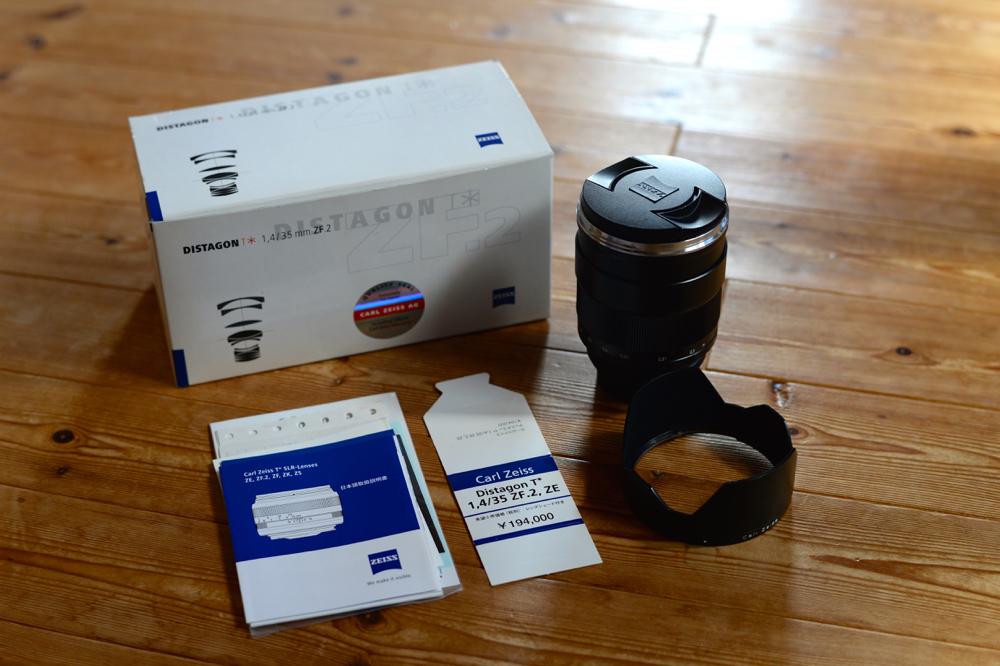 【純正UVフィルター付属】 Carl Zeiss Distagon T* 35mm f/1.4 ZF.2 付属品完備 ニコン Nikon Fマウント 広角 カールツァイス