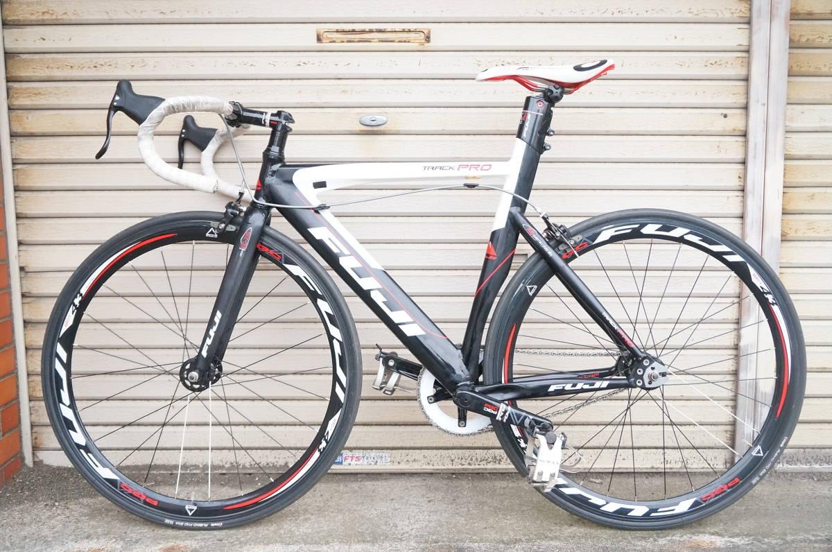 FUJI TRACK PRO フジ トラック プロ ピスト 完成車 サイズ520 自転車ロードバイク_画像2