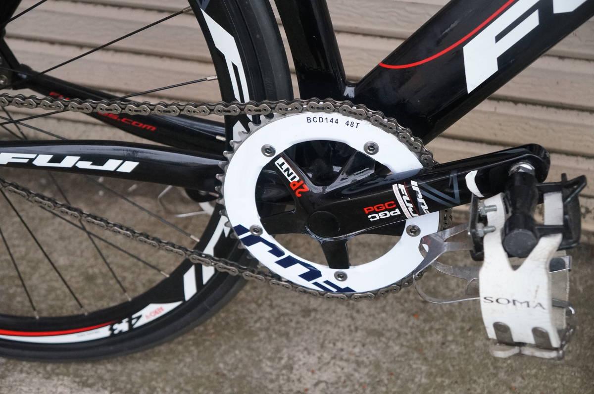 FUJI TRACK PRO フジ トラック プロ ピスト 完成車 サイズ520 自転車ロードバイク_画像3