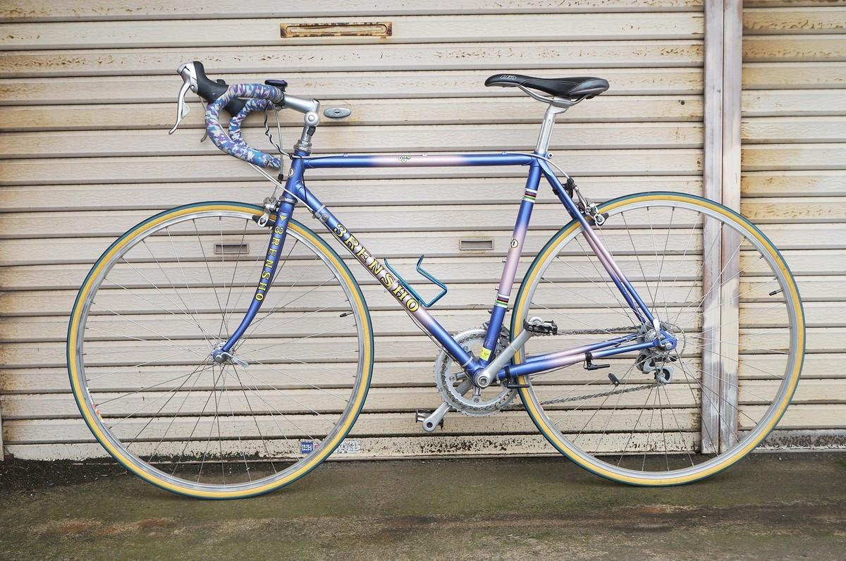 希少 レア 3RENSHO 三連勝 3連勝 ロードバイク 自転車 ツートンパープル ビンテージ_画像2