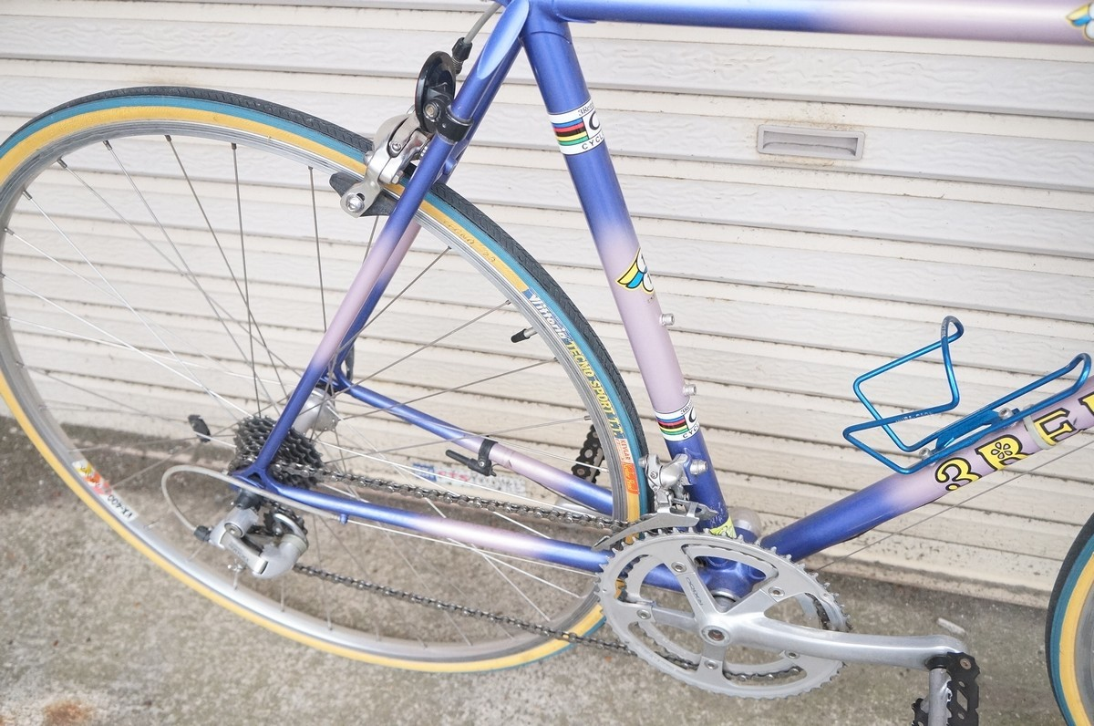 希少 レア 3RENSHO 三連勝 3連勝 ロードバイク 自転車 ツートンパープル ビンテージ_画像3