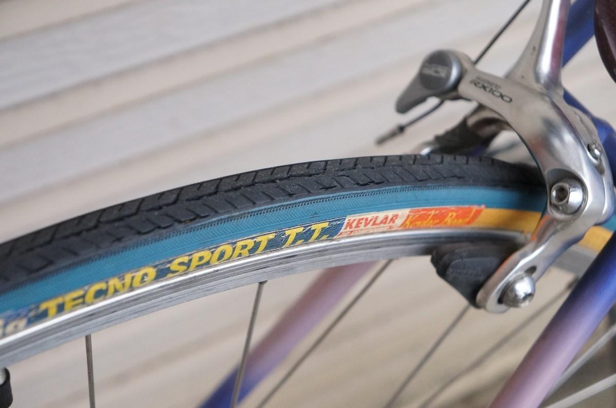 希少 レア 3RENSHO 三連勝 3連勝 ロードバイク 自転車 ツートンパープル ビンテージ_画像9