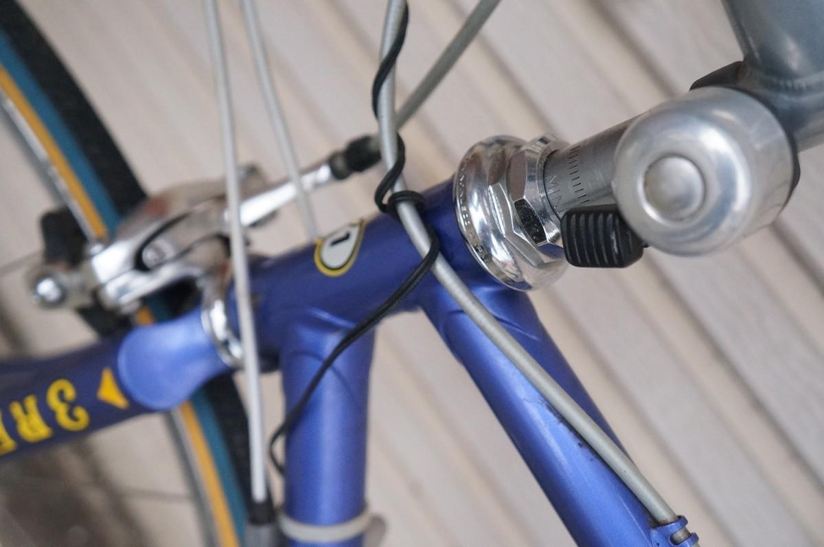 希少 レア 3RENSHO 三連勝 3連勝 ロードバイク 自転車 ツートンパープル ビンテージ_画像10