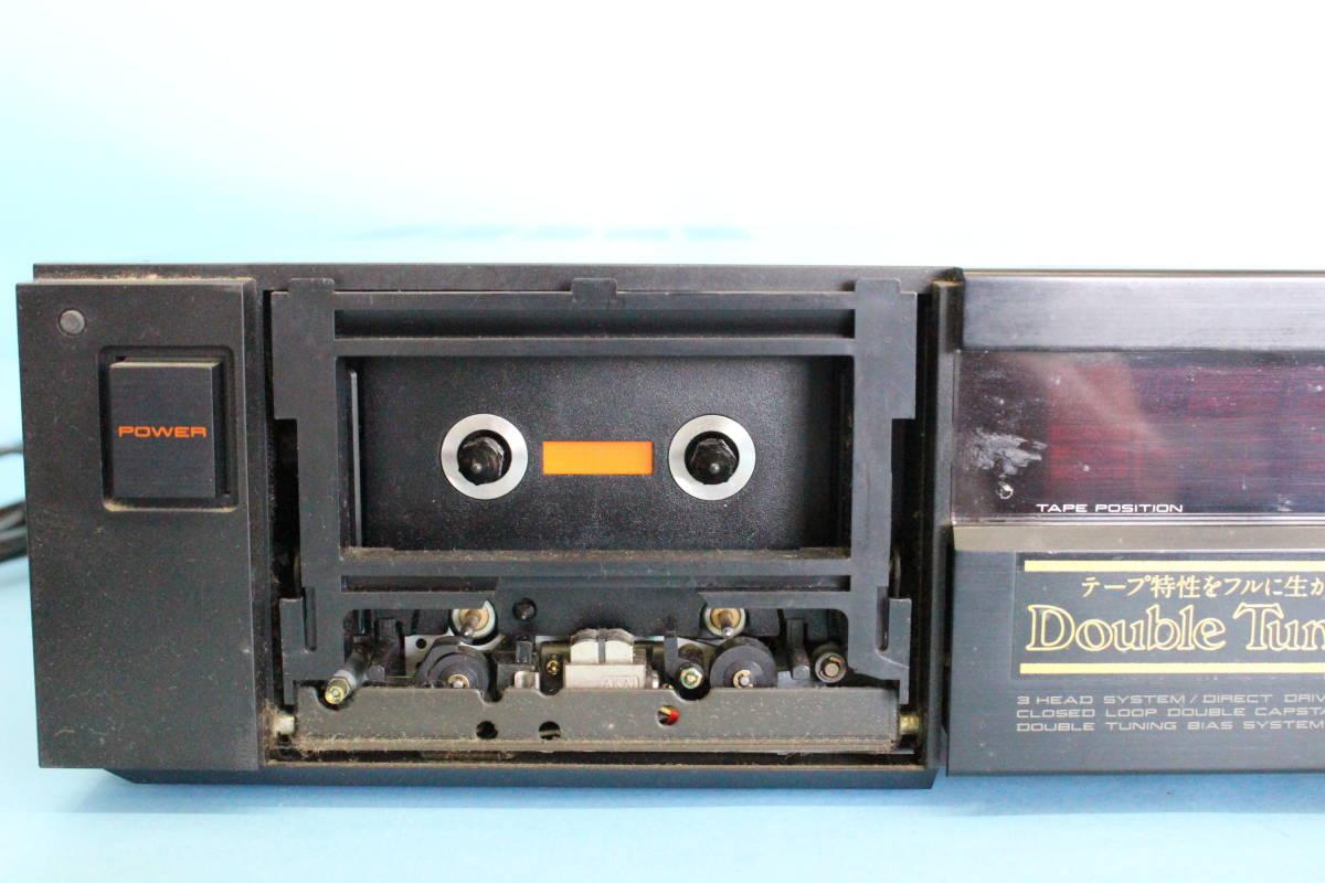 アカイ AKAI GX-9 ステレオカセットデッキ (ジャンク 電源入るが異音がある その他未チェック)_画像4