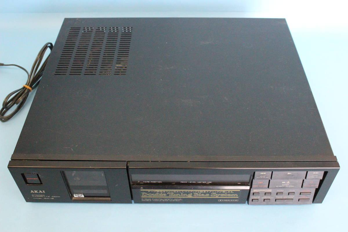 アカイ AKAI GX-9 ステレオカセットデッキ (ジャンク 電源入るが異音がある その他未チェック)_画像2