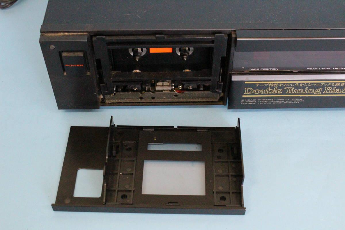 アカイ AKAI GX-9 ステレオカセットデッキ (ジャンク 電源入るが異音がある その他未チェック)_画像3