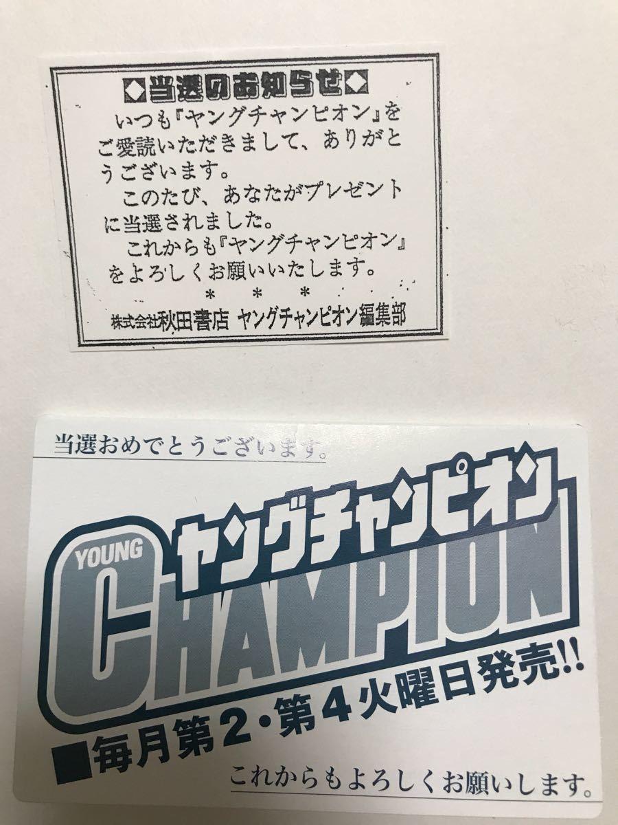 川崎あや/ヤングチャンピオン烈 抽プレ クオカード_画像2