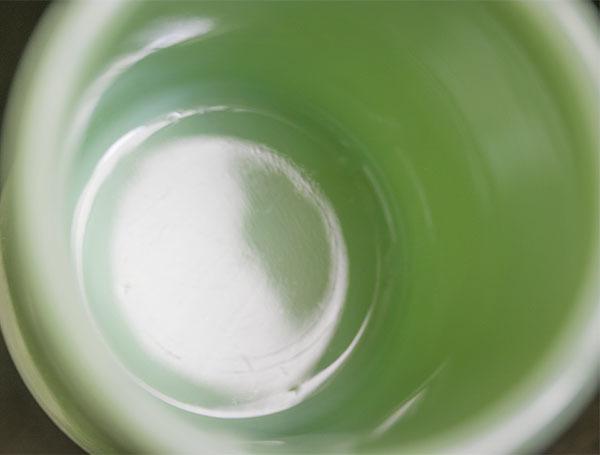 ファイヤーキング マグ ジェダイ レストラン ヘビー 1950年代 耐熱 コーヒー ミルクグラス ビンテージ 雑貨_画像4