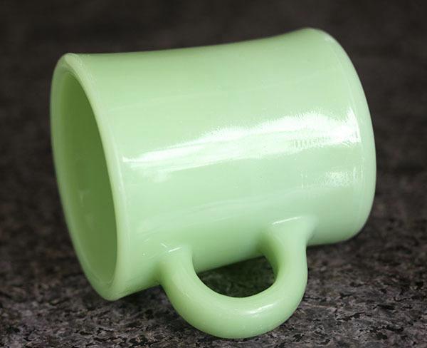 ファイヤーキング マグ ジェダイ レストラン ヘビー 1950年代 耐熱 コーヒー ミルクグラス ビンテージ 雑貨_画像2